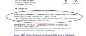 number 1 in google in Organic