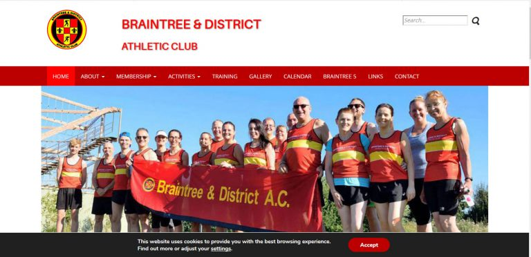 Braintree & District Athletic Club http://braintreeanddistrictac.co.uk/
