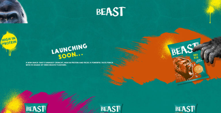 Beast Snacks Holding Page